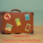 Summer 2017 – Individual Coaching Offer